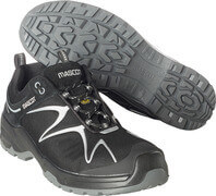 F0121-770-09880 Safety Shoe - Black/Silver