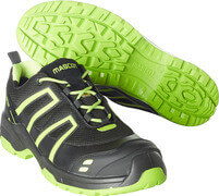 F0124-773-0917 Safety Shoe - black/lime green