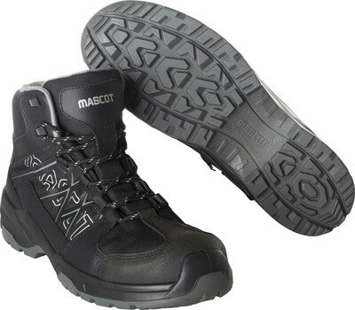 F0129-947-09 Safety Shoes (high) - black