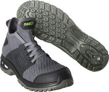 F0133-996-18 Safety Shoes (high) - dark anthracite