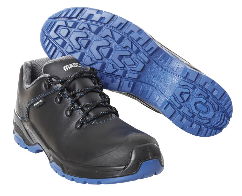 F0140-902-0901 Safety Shoe - Black/royal