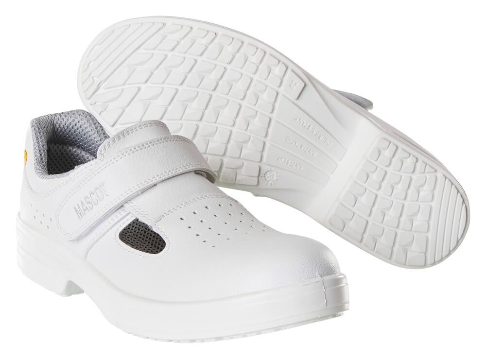 F0801-906-06 Safety Sandal - white