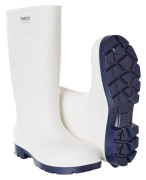 F0851-703-06 PU safety boots - white